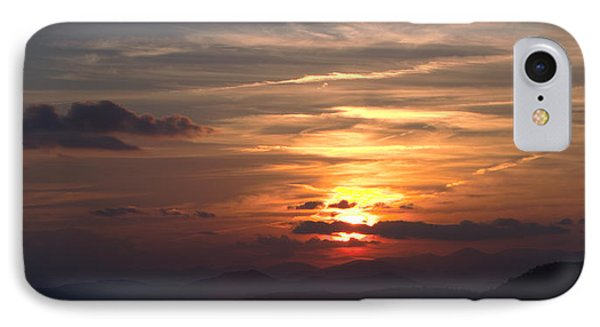 Sunset From The Blue Ridge Parkway Ll IPhone Case by John Harmon