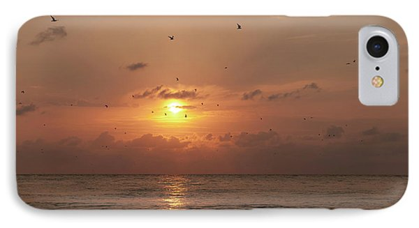 IPhone Case featuring the photograph Sunset by Gouzel -