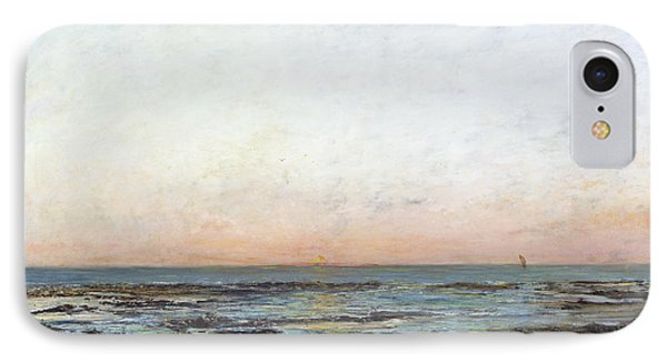 Sunset Phone Case by Gustave Courbet
