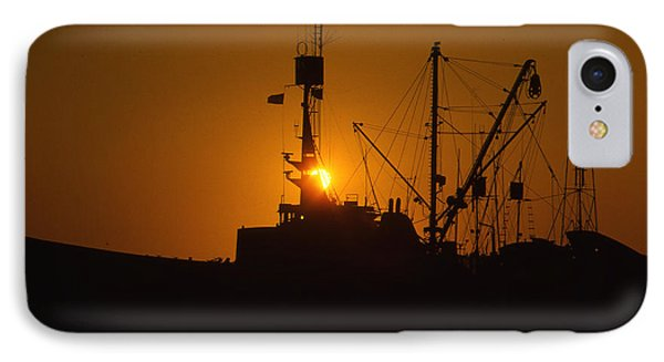 IPhone Case featuring the photograph Sunset Harbor by Marie Leslie