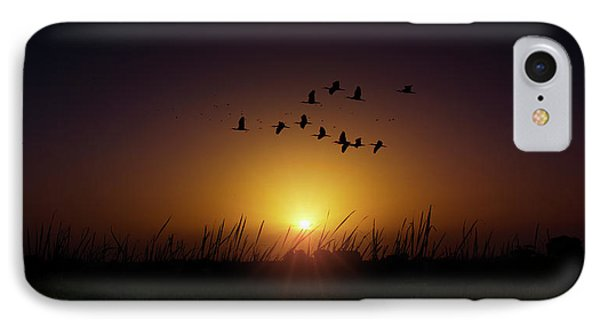 Sunset Highway IPhone Case