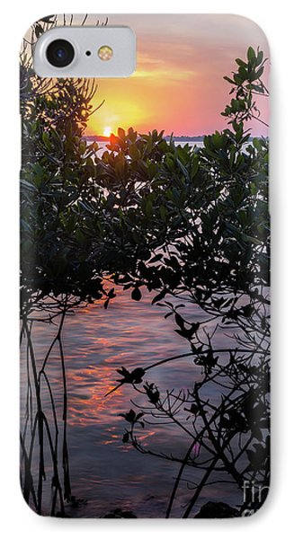 Sunset, Hutchinson Island, Florida  -29188-29191 IPhone Case