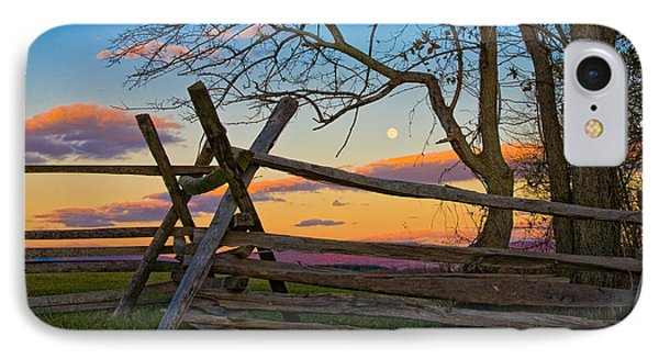 Sunset In Antietam IPhone Case by Ronald Lutz