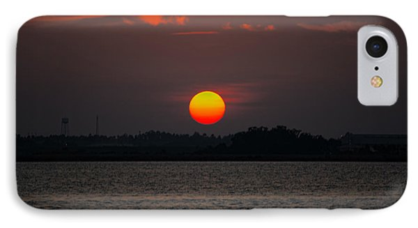 Sunset In Biloxi IPhone Case