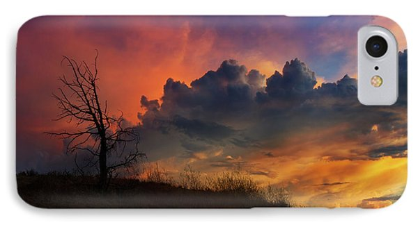 Sunset In Central Oregon Phone Case by David Gn