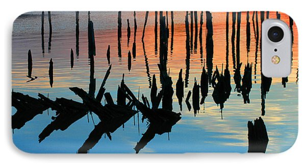 Sunset In Colonial Beach Virginia Phone Case by Clayton Bruster