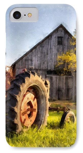 Sunset In Etna New Hampshire IPhone Case by Edward Fielding