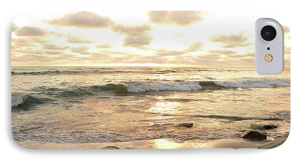Sunset In Golden Tones Torrey Pines Natural Preserves #2 IPhone Case by Heather Kirk