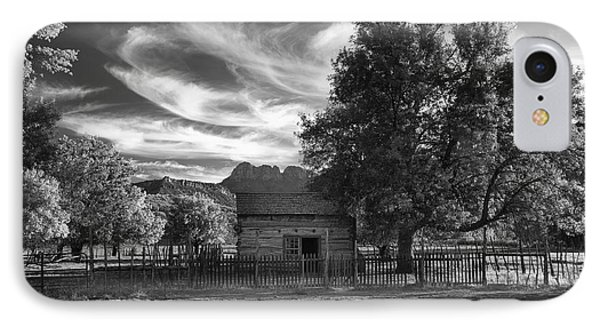 Sunset In Grafton Ghost Town Phone Case by Sandra Bronstein