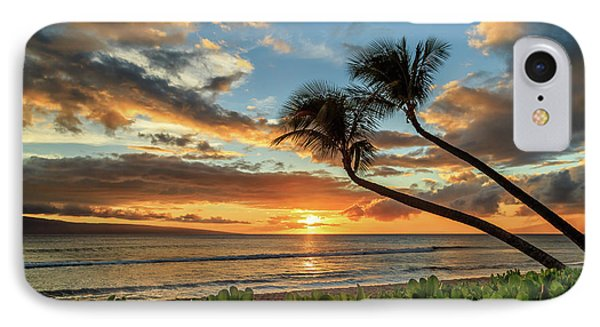 Sunset In Kaanapali IPhone Case by James Eddy