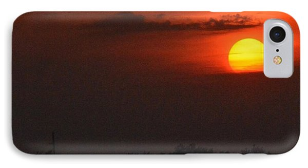 Sunset In Kentucky  IPhone Case by Sumoflam Photography