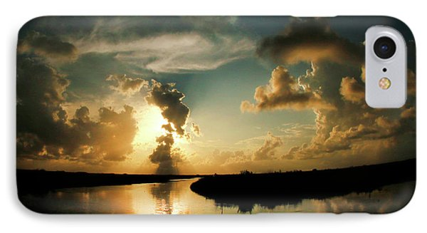 Sunset In Lacombe, La IPhone Case
