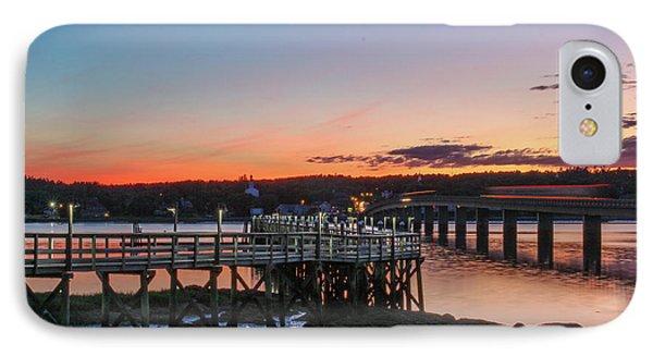 Sunset In Maine IPhone Case