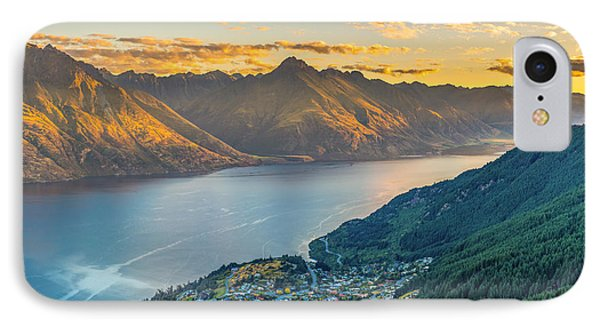 Sunset In New Zealand IPhone Case by James Udall