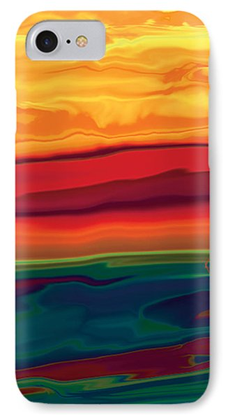 Sunset In Ottawa Valley 1 IPhone Case by Rabi Khan