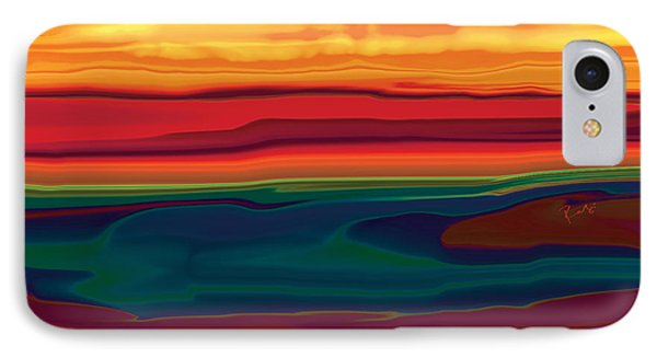 Sunset In Ottawa Valley IPhone Case by Rabi Khan