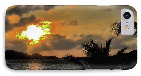 IPhone Case featuring the photograph Sunset In Paradise by Jim Hill