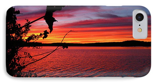 IPhone Case featuring the photograph Sunset In Pennsylvania by Donna Brown