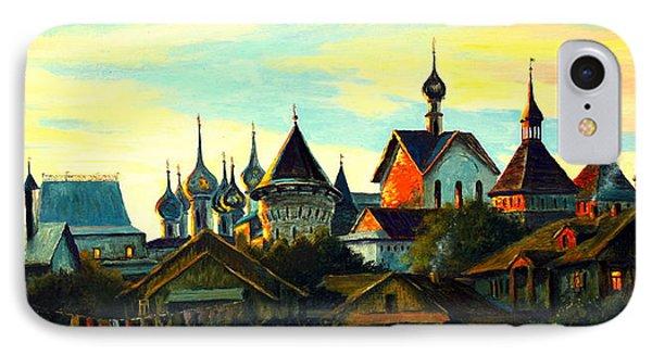 Sunset In Rostov Phone Case by Henryk Gorecki