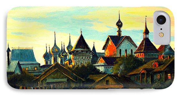 Sunset In Rostov IPhone Case by Henryk Gorecki