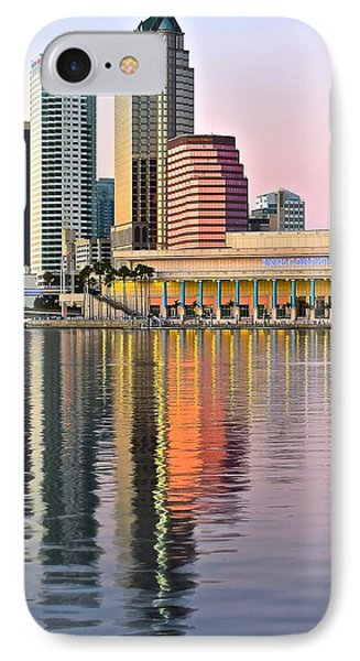 Sunset In Tampa IPhone Case