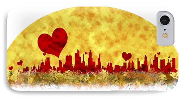 Sunset In The City Of Love IPhone Case by Anton Kalinichev