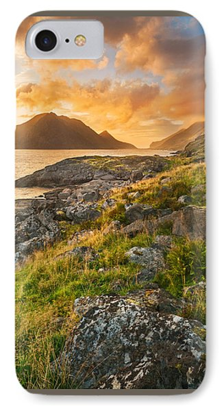 IPhone Case featuring the photograph Sunset In The North by Maciej Markiewicz