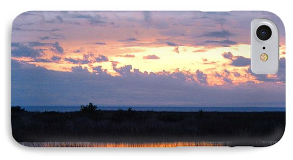 Sunset In The River Sea Beyond IPhone Case
