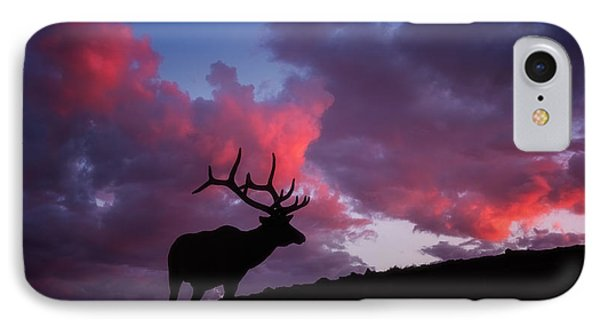 Sunset In The Rockies IPhone Case by Darren White
