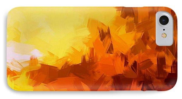 Sunset In Valhalla IPhone Case