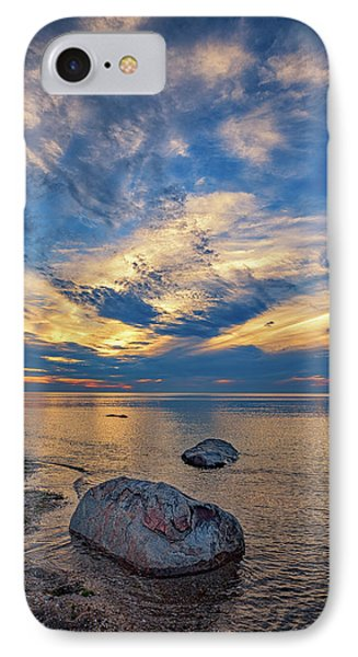 Sunset In Wading River IPhone Case by Rick Berk