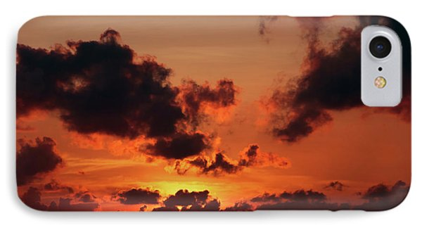 IPhone Case featuring the photograph Sunset Inspiration by Jenny Rainbow