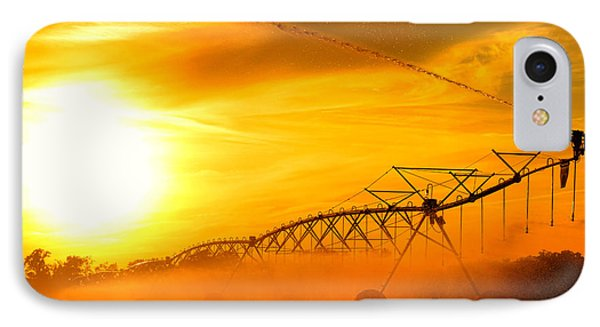 Sunset Irrigation IPhone Case