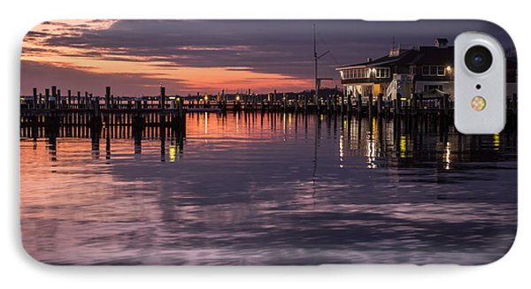 Sunset Island Heights Yacht Club IPhone Case by Terry DeLuco