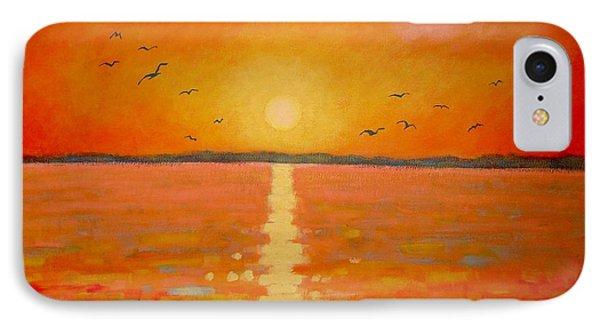 Sunset Phone Case by John  Nolan