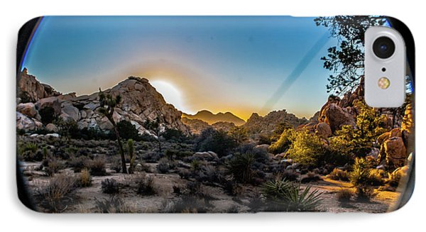 Sunset Joshua Tree National Park IPhone 7 Case