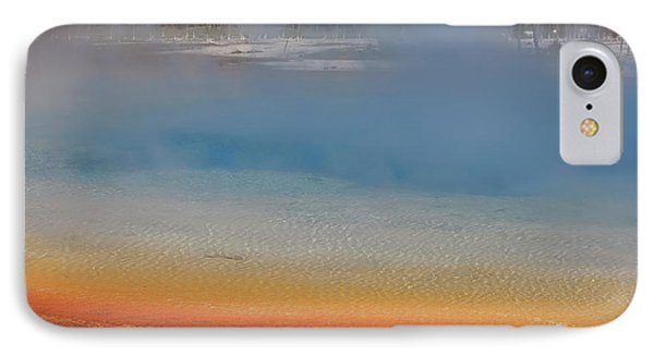 Sunset Lake In Black Sand Basin Yellowstone National Park Phone Case by Louise Heusinkveld