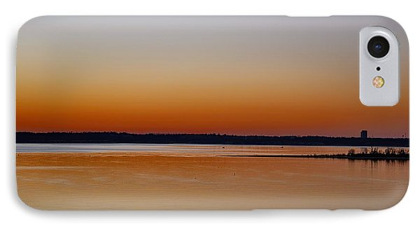 IPhone Case featuring the photograph Sunset Lake Texhoma by Diana Mary Sharpton