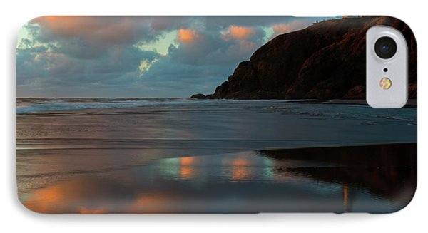 Sunset Light Reflections IPhone Case by Mike Dawson