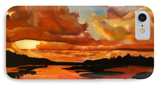 Sunset Phone Case by Michael Kulick