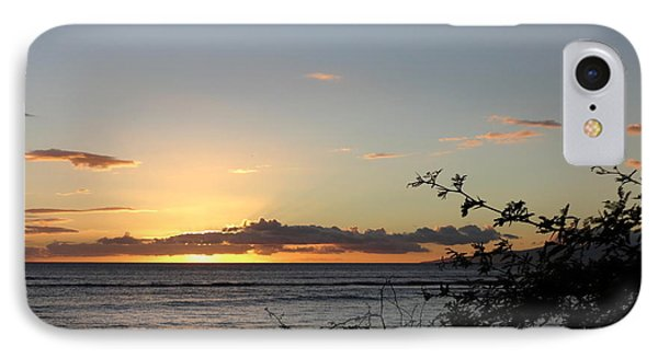 Sunset Off Lipoa IPhone Case by Fred Wilson