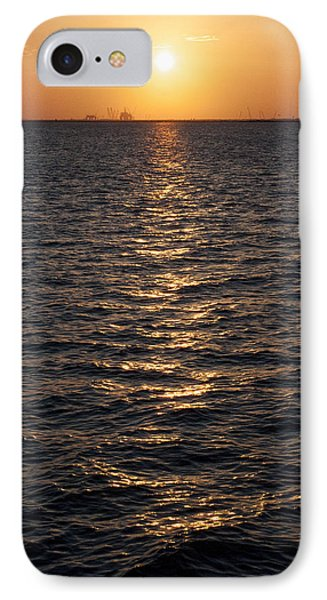 Sunset On Bay IPhone Case