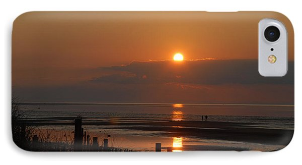 IPhone Case featuring the photograph Sunset On Cape Cod by Alana Ranney