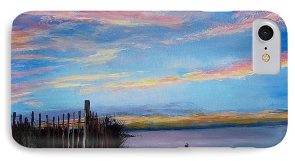 Sunset On Cape Cod Bay Phone Case by Jack Skinner