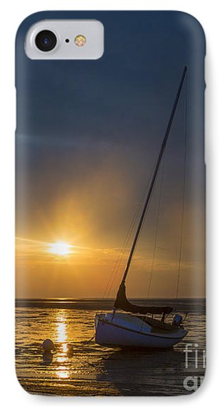 Sunset On Cape Cod IPhone Case by Diane Diederich