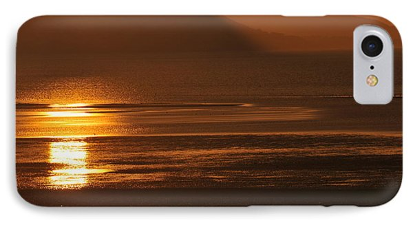 IPhone Case featuring the photograph Sunset On Coast Of North Wales by Harry Robertson