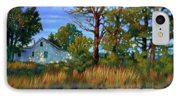 Sunset On Country Home Phone Case by John Lautermilch