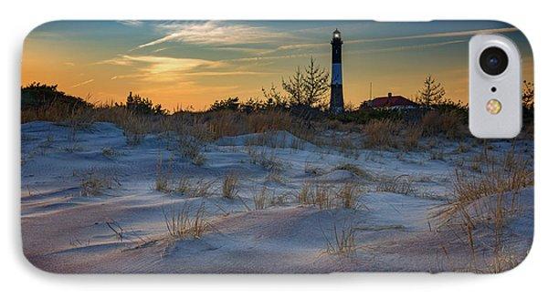 Sunset On Fire Island Phone Case by Rick Berk