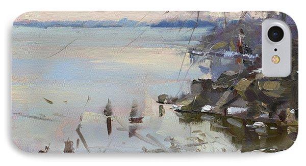 Sunset On Fishermans Park - North Tonawanda IPhone Case by Ylli Haruni