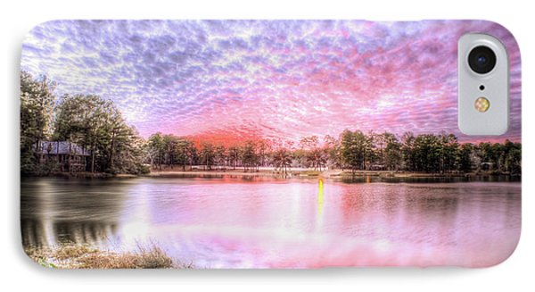 Sunset On Flint Creek IPhone Case